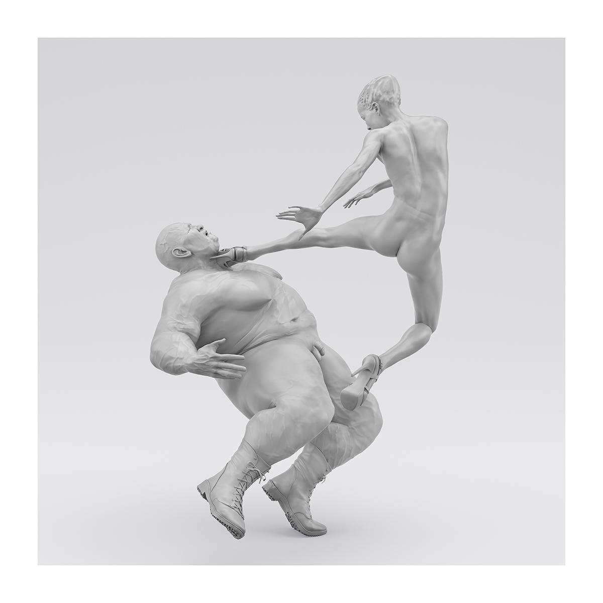 I will not Make any more Boring Art XIV 003 1 - 2020 - I will not Make any more Boring Art. XIV. (Men, Women. The Struggle. I)