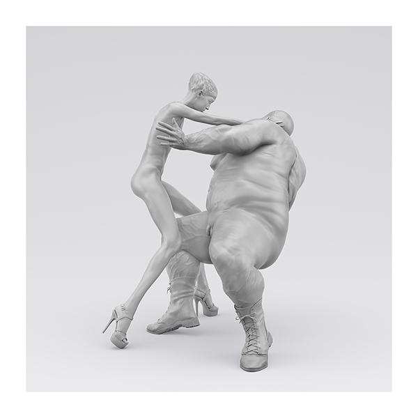 I will not Make any more Boring Art XIV 004 - 2020 - I will not Make any more Boring Art. XIV. (Men, Women. The Struggle. I)