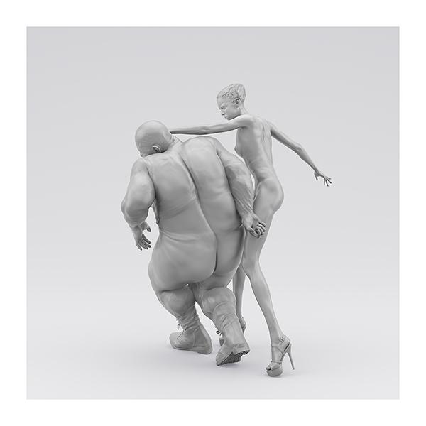 I will not Make any more Boring Art XIV 009 - 2020 - I will not Make any more Boring Art. XIV. (Men, Women. The Struggle. I)