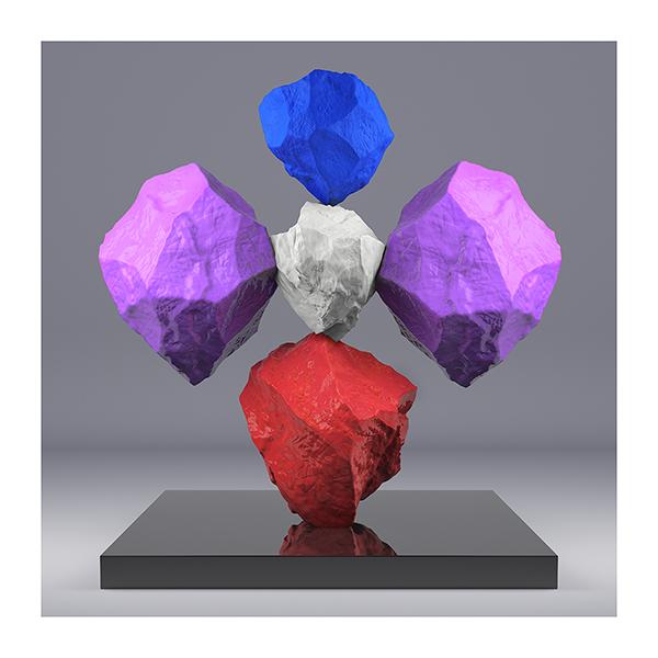 I will not Make any more Boring Art XVII - 2020 - I will not Make any more Boring Art. XVII. (Rock Balancing)