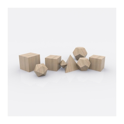 460 Plato Architect The Platonic Solids 005 400x400 - Visuals. 2020