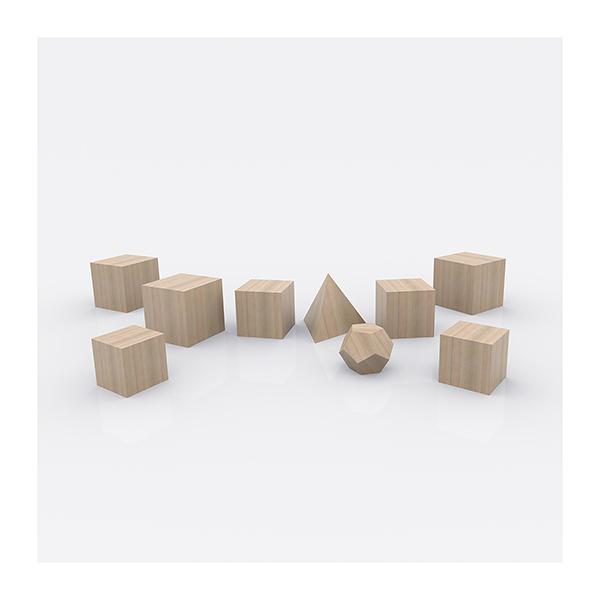 Plato Architect The Platonic Solids 002 - 2020 - Plato Architect. (The Platonic Solids)