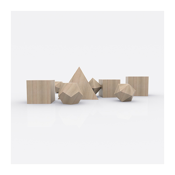 Plato Architect The Platonic Solids 004 - 2020 - Plato Architect. (The Platonic Solids)