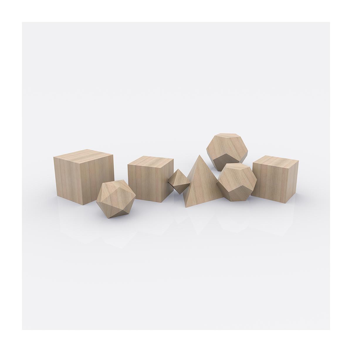 Plato Architect The Platonic Solids 005 1 - 2020 - Plato Architect. (The Platonic Solids)