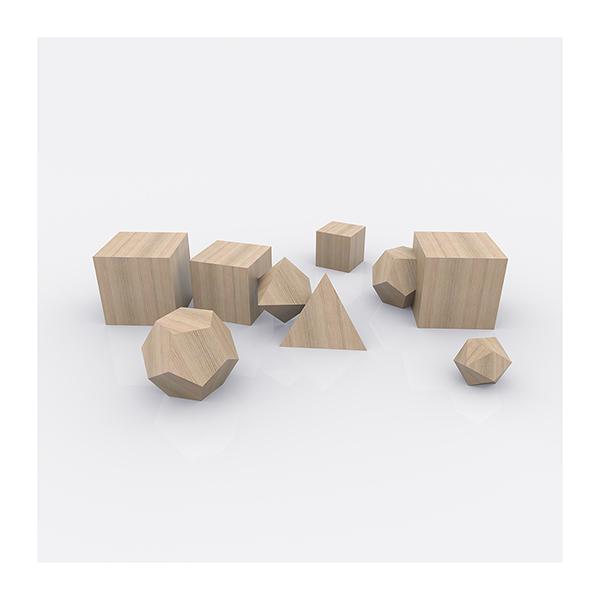 Plato Architect The Platonic Solids 008 - 2020 - Plato Architect. (The Platonic Solids)