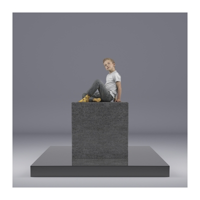 005 TWHS Sitting Boy 002 400x400 - Visuals. 2021