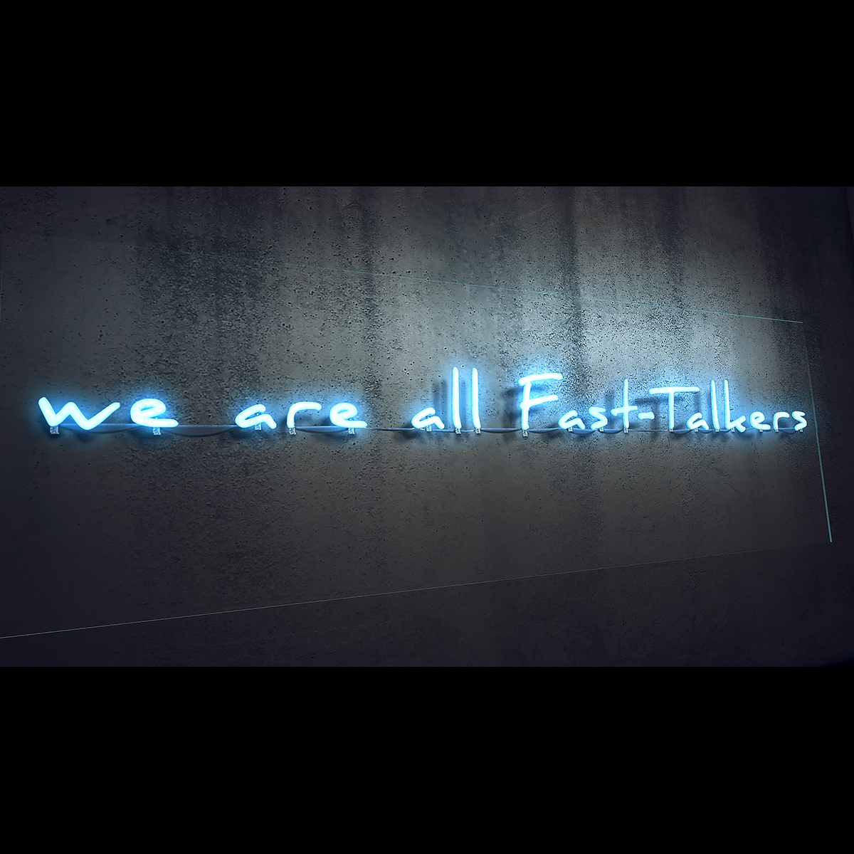 we are all FastTalkers 1200 1200 - Visuals. 2021