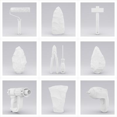 100 TWHS History of Tools 001LP 000 400x400 - Visuals. 2021