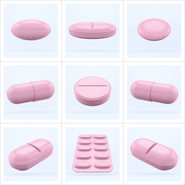 I will not Make any more Boring Art XXVII 000 - 2021 - I will not Make any more Boring Art. XXVII. (May 2021 - Pills - The Rose Period)