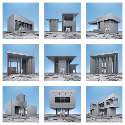 180 Art of the XXICentury II 000 400x400 - Visuals. 2021