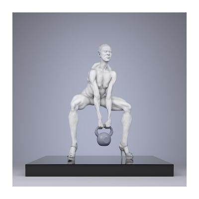 220 TWHS Extreme Female Bodybuilders IV 001 400x400 - Visuals. 2021