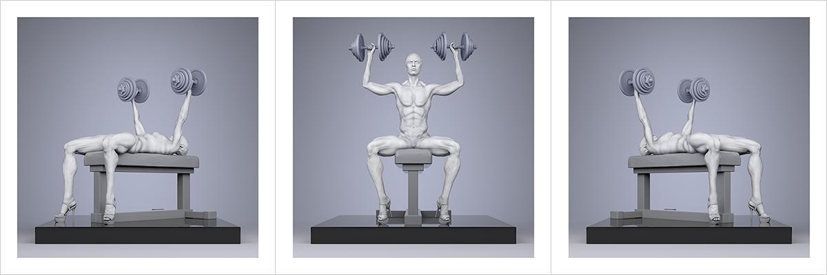 TWHS Extreme Female Bodybuilders III 000 1200400n - 2021 - This was HomoSapiens. Extreme Female Bodybuilders. III