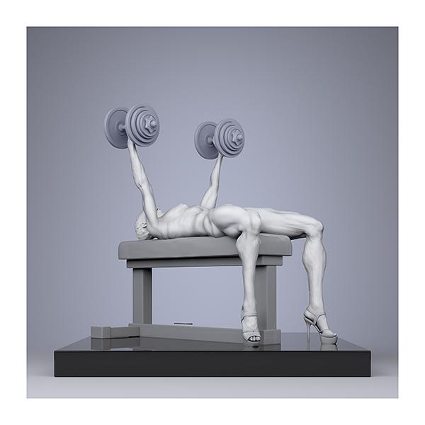 TWHS Extreme Female Bodybuilders III 003n - 2021 - This was HomoSapiens. Extreme Female Bodybuilders. III
