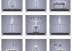TWHS Extreme Female Bodybuilders IV 000 300x214 - Virtual Photography