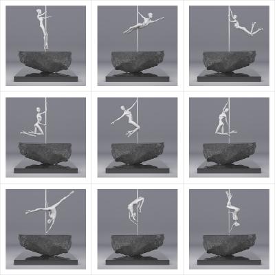 225 TWHS Pole Dance Dancer I 000 400x400 - Visuals. 2021