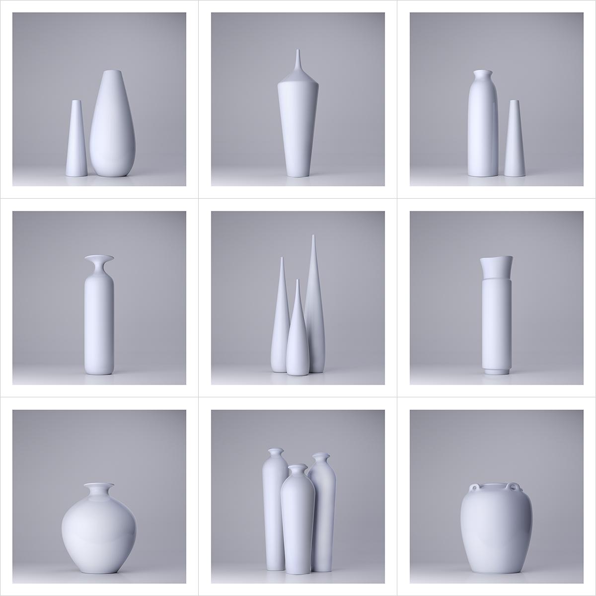 230 Lsdr TWHS Virtual Ceramics I 000 - 2021 - La simplicité du regard. This was HomoSapiens. Virtual Ceramics. I