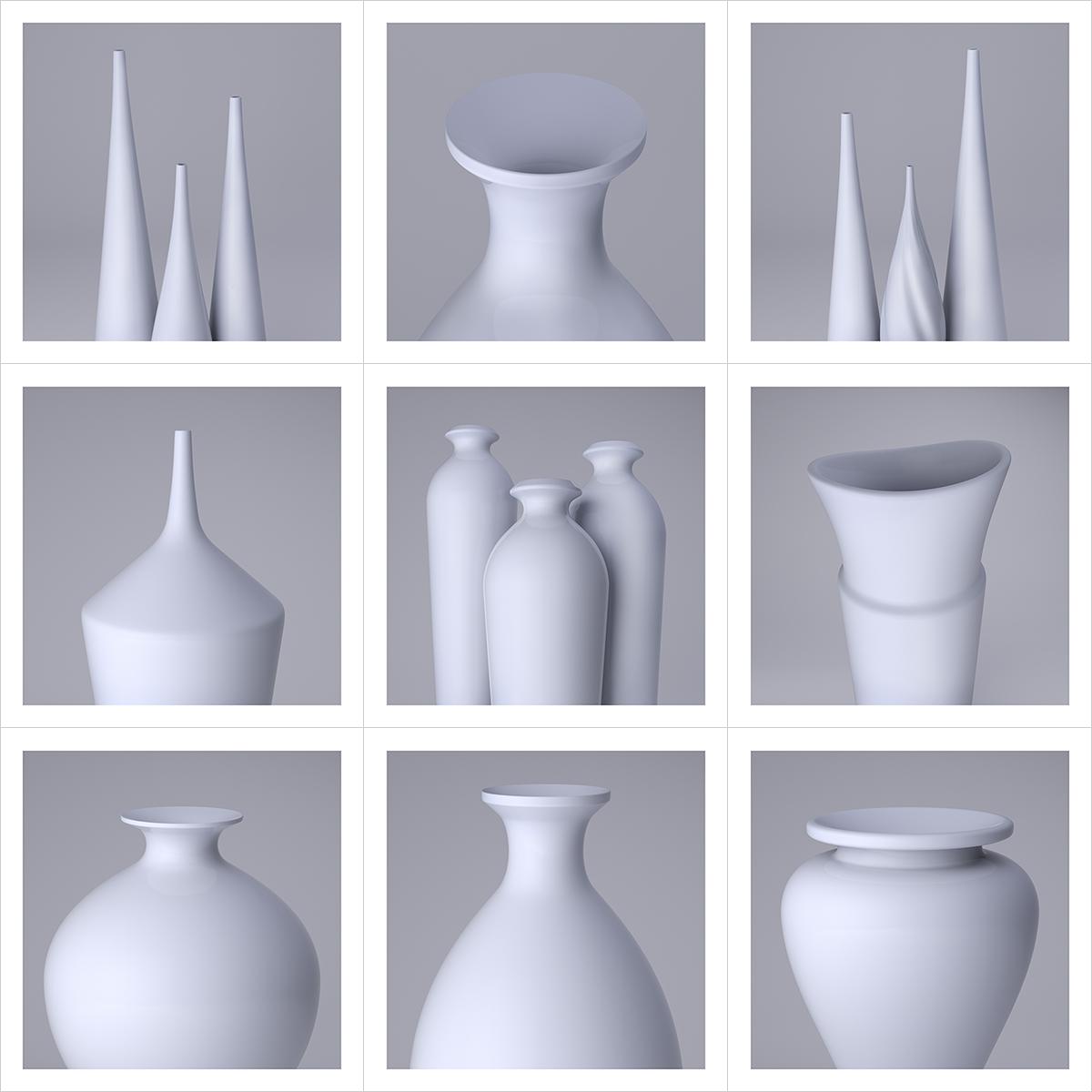 235 Lsdr TWHS Virtual Ceramics II 000 - 2021 - La simplicité du regard. This was HomoSapiens. Virtual Ceramics. II