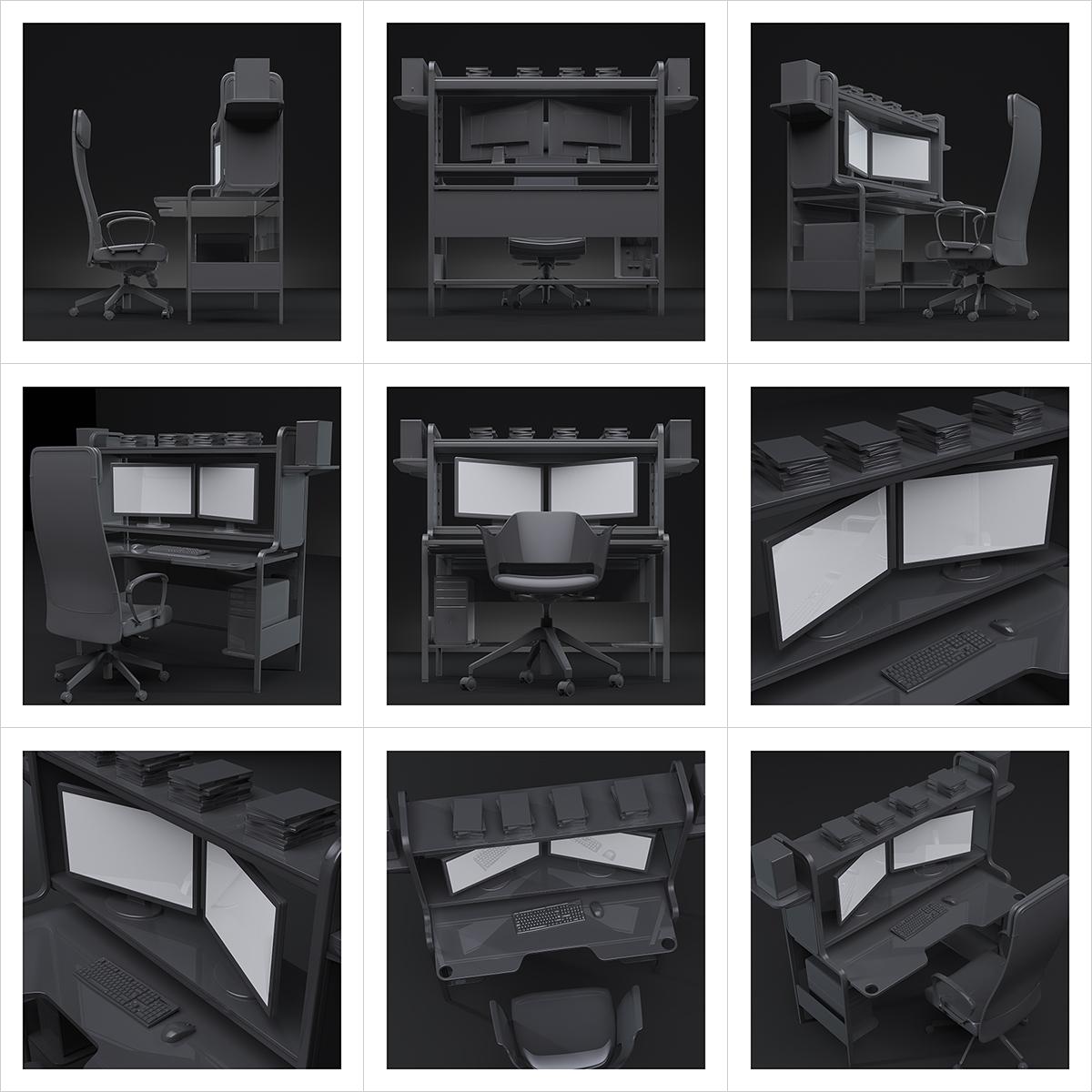 245 An artists studio I 000 - 2021 - An artist's studio in the 21st Century. I