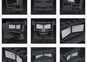 An artists studio I 000 300x214 - Virtual Photography