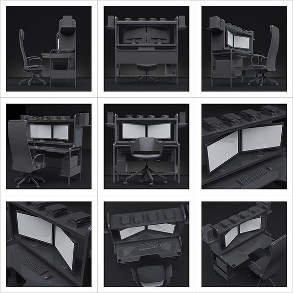 An artists studio I 000 - 2021 - An artist's studio in the 21st Century. I