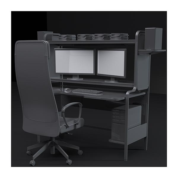 An artists studio I 004 - 2021 - An artist's studio in the 21st Century. I