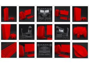 An artists studio II 000 300x214 - Virtual Photography