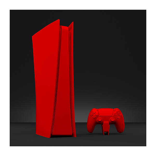 An artists studio II 001 - 2021 - An artist's studio in the 21st Century. II