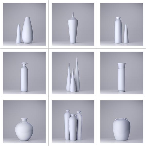 Lsdr TWHS Virtual Ceramics I 000 - 2021 - La simplicité du regard. This was HomoSapiens. Virtual Ceramics. I