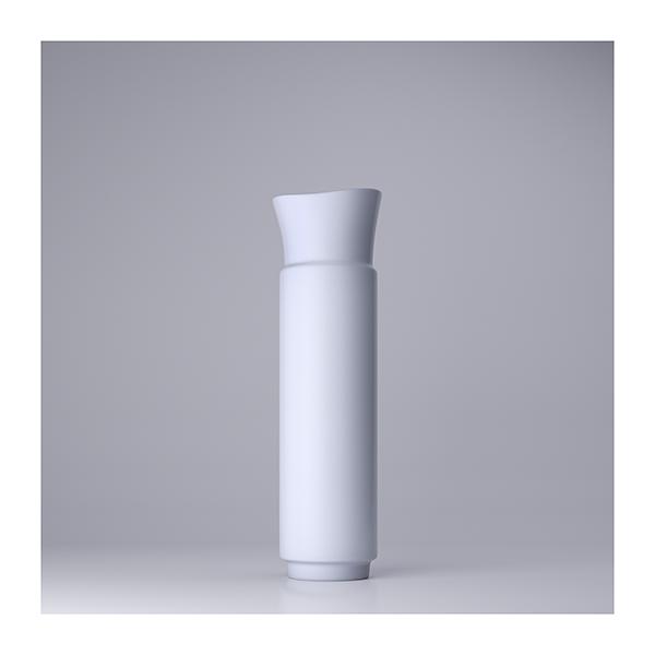 Lsdr TWHS Virtual Ceramics I 006 - 2021 - La simplicité du regard. This was HomoSapiens. Virtual Ceramics. I