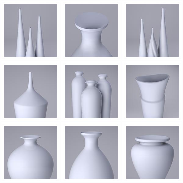 Lsdr TWHS Virtual Ceramics II 000 - 2021 - La simplicité du regard. This was HomoSapiens. Virtual Ceramics. II