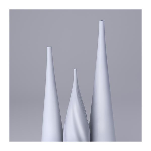 Lsdr TWHS Virtual Ceramics II 003 - 2021 - La simplicité du regard. This was HomoSapiens. Virtual Ceramics. II
