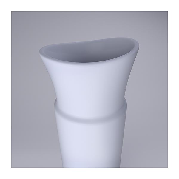 Lsdr TWHS Virtual Ceramics II 006 - 2021 - La simplicité du regard. This was HomoSapiens. Virtual Ceramics. II