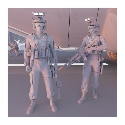 285 TWHS the last US soldiers II 002 400x400 - Visuals. 2021