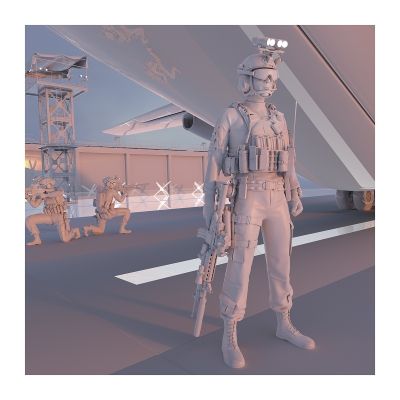 285 TWHS the last US soldiers II 004 400x400 - Visuals. 2021