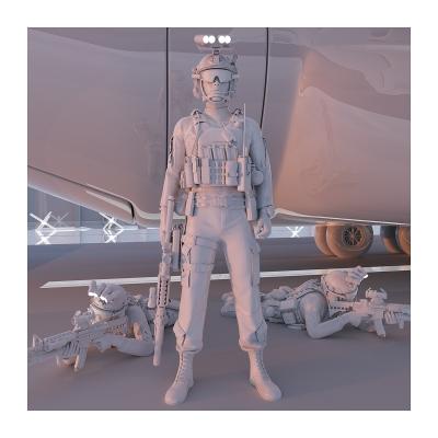 285 TWHS the last US soldiers II 005 400x400 - Visuals. 2021
