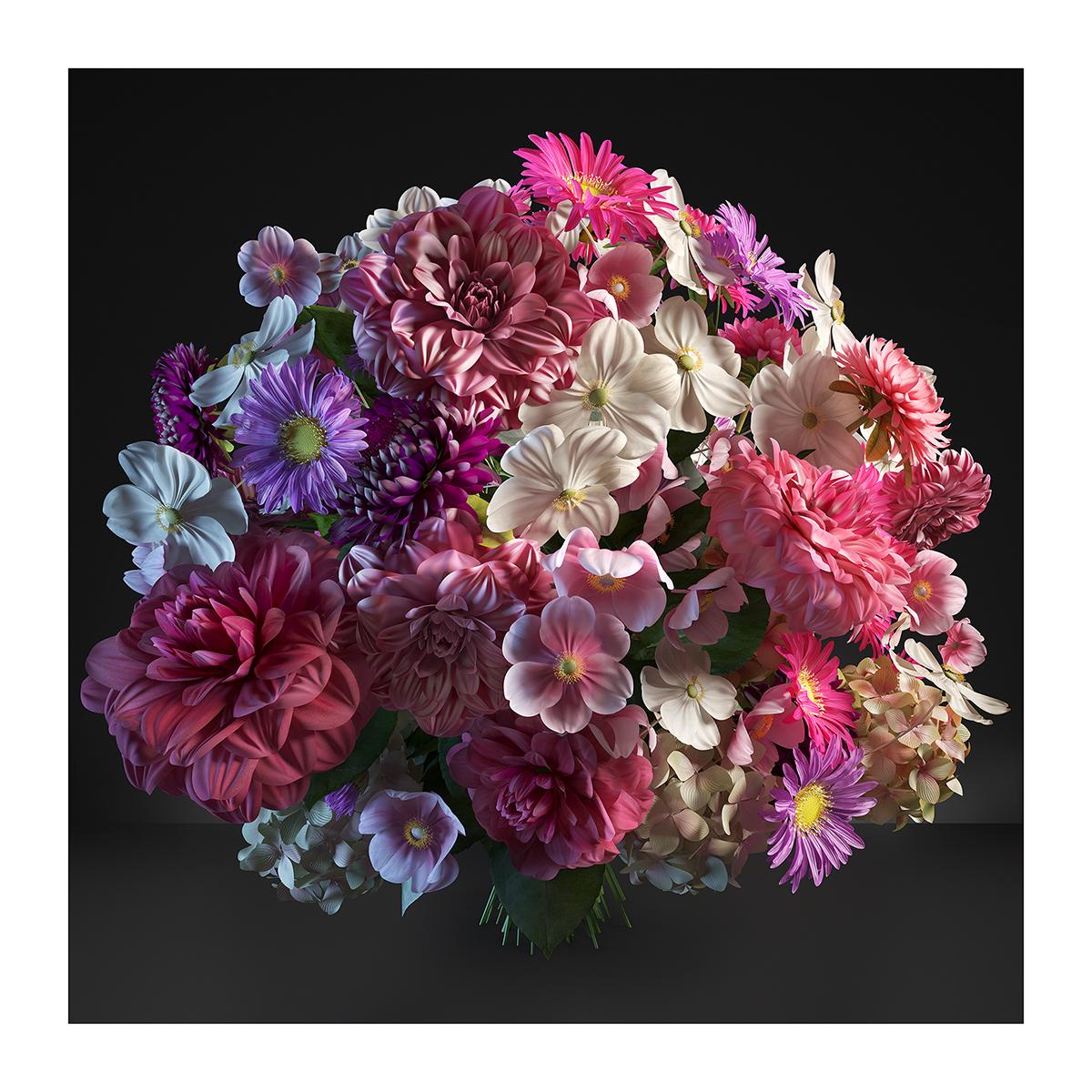 315 Virtual Flowers 2021 I 002 - 2021 - Virtual Flowers. 2021. I