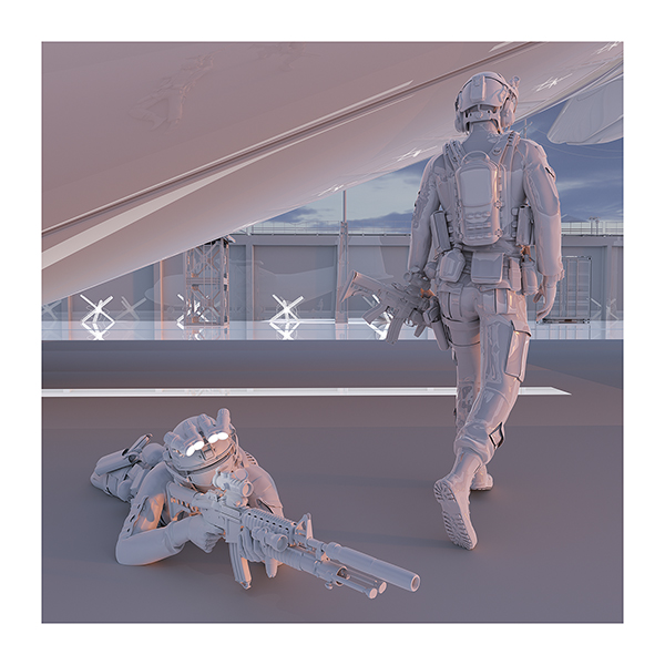 TWHS the last US soldiers II 007 - 2021 - This was HomoSapiens. The last US soldiers to leave Afghanistan. II