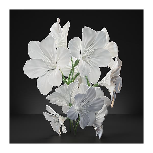 Virtual Flowers 2021 I 001 - 2021 - Virtual Flowers. 2021. I