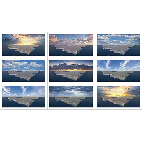 Virtual Landscapes 2021 II 000 - 2021 - Virtual Landscapes. 2021. II
